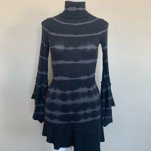 Forever21 Turtleneck Bell Sleeve Sweater Dress